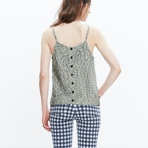 Madewell Knit Button Back Blouse